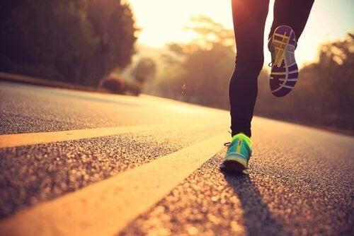 달리기의 이점