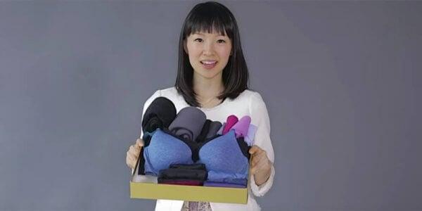 일본의 중요한 훈육 방법 중 하나 정리 정돈법을 알린 마리에 콘도 사진