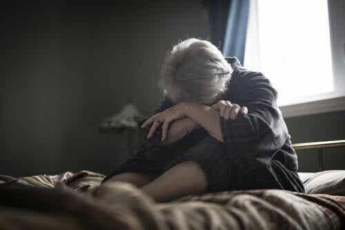 노인들이 겪는 우울증