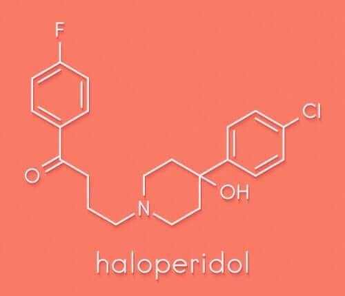 할로페리돌 화학적 구조