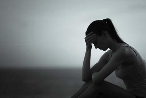 슬픈 여성