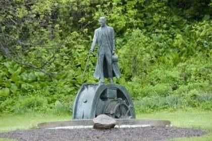 니콜라 테슬라 동상