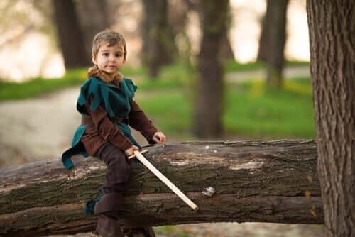 아이들을 위한 3가지 전설 - 로빈후드처럼 옷을 입은 소년