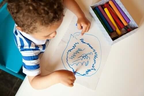 낙서: 아이들의 비밀 언어 및 의사소통