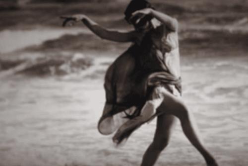 춤추는 이사도라 던컨