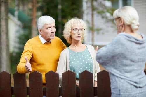 이웃 괴롭힘은 파괴적일 수 있다