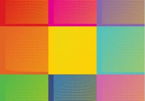앤디 워홀 - 정사각형 패턴