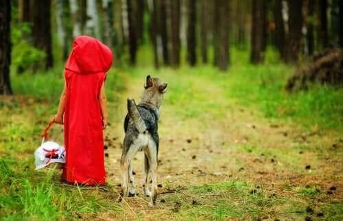 동화 빨간 망토 속의 늑대가 나쁘지 않은 이유