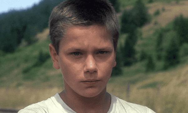 리버 피닉스 -어린 시절의 모습