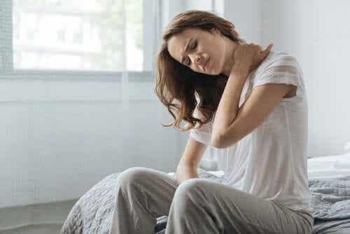 고통과 온도를 감지하는 신체 감각