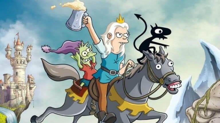 디스인챈트: 매트 그로닝의 중세 풍자 애니메이션