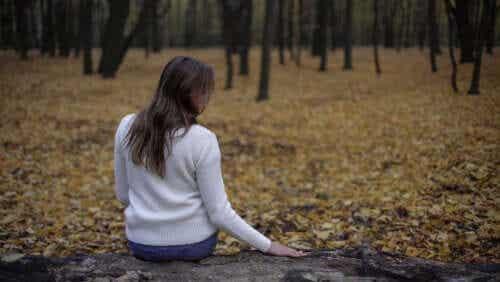 실종된 사람에 대한 슬픔