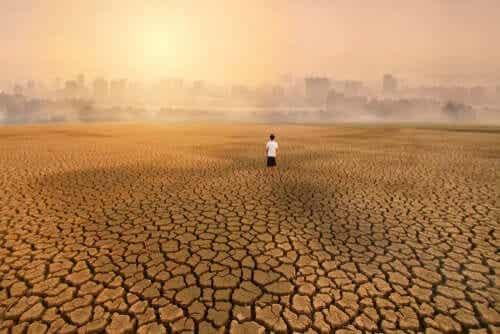 기후변화의 결과인 환경 불안