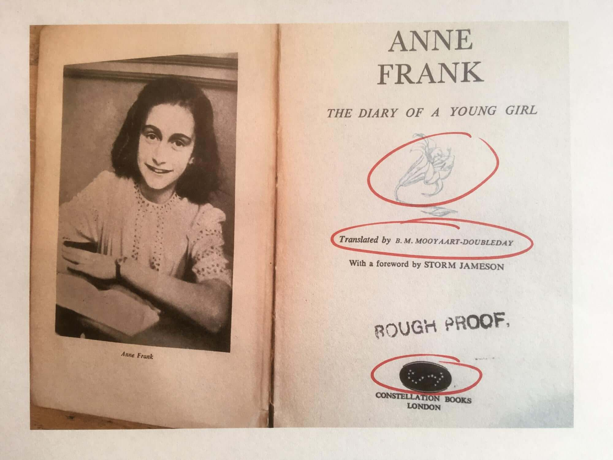 안네 프랑크 나치