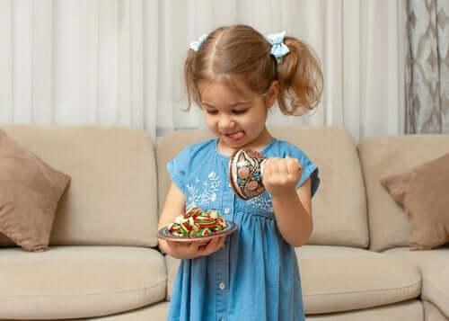 과일 스낵 챌린지: 어린이에게 자제력 심어주기