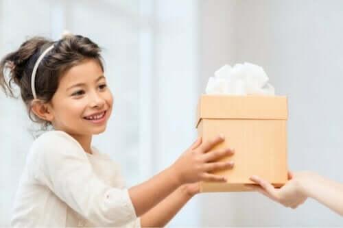 감성적인 선물에 대한 중요성