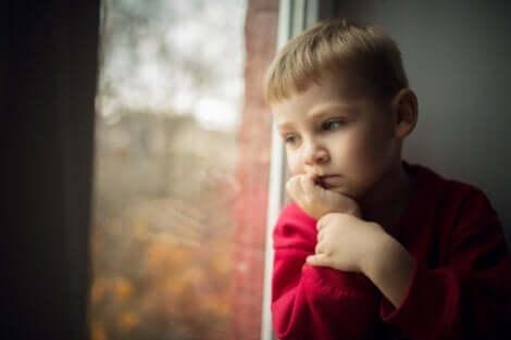 어린 시절의 슬픔