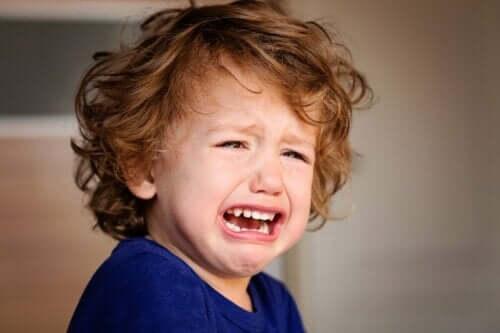 아이가 떼쓸 때 화를 참는 방법: 우는 아이