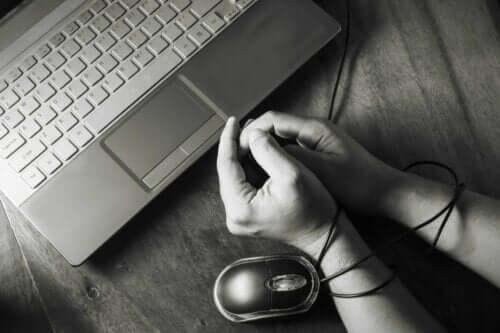 행위 중독 기술 중독