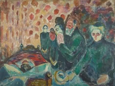 에드바르 뭉크: 사랑과 죽음의 그림