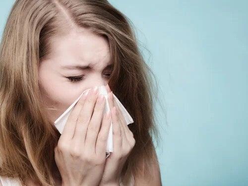 알레르기성 비염 - '정신 건강'이 원인일 수도 있다?