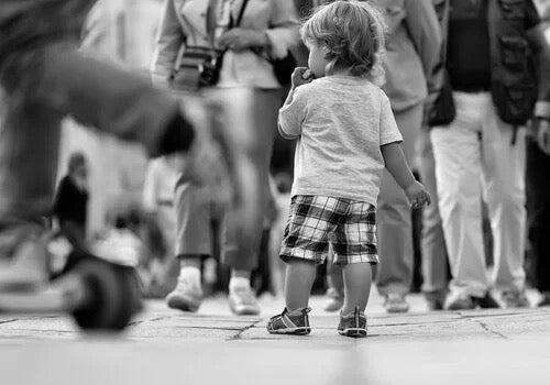 실종 아동 실험: 인간의 인식 능력에 관하여